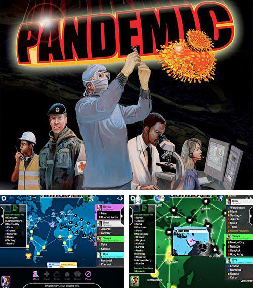 In addition to the game War is peace for iPhone, iPad or iPod, you can also download Pandemic: The board game for free.