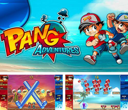 In addition to the game Paratroopers: Air assault for iPhone, iPad or iPod, you can also download Pang adventures for free.