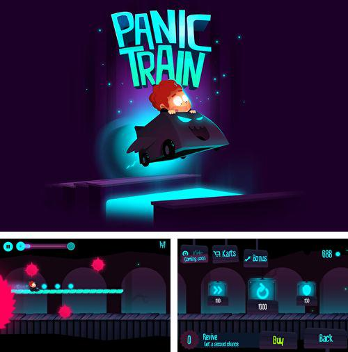 In addition to the game Aqua Moto Racing 2 for iPhone, iPad or iPod, you can also download Panic train for free.