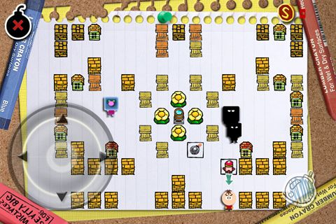Download Paper bomber iPhone free game.