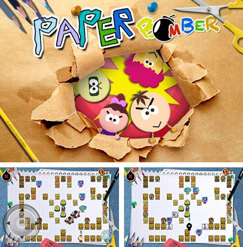 In addition to the game Dokuro for iPhone, iPad or iPod, you can also download Paper bomber for free.