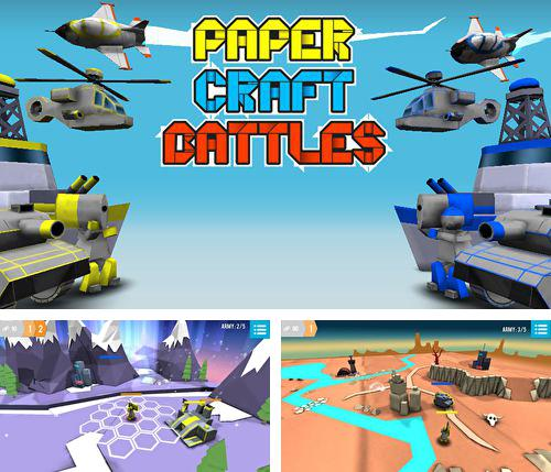 In addition to the game Craft the world for iPhone, iPad or iPod, you can also download Paper craft: Battles for free.