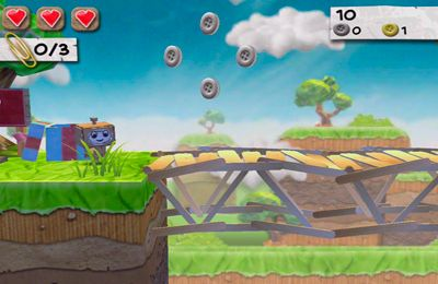 Capturas de pantalla del juego Paper monsters para iPhone, iPad o iPod.
