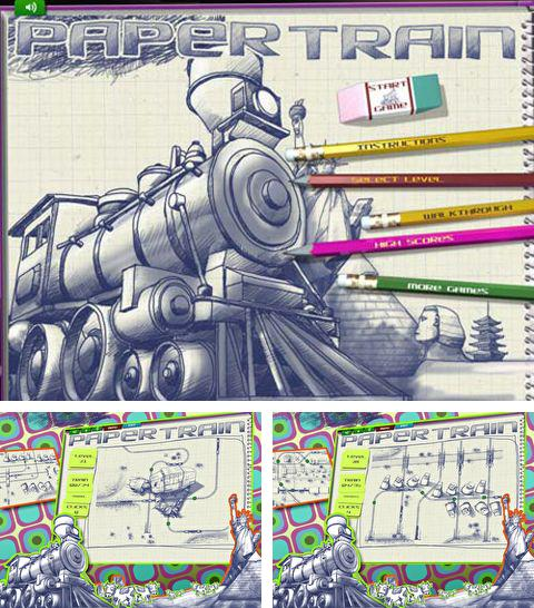 In addition to the game Dog world 3D: My dalmatian for iPhone, iPad or iPod, you can also download Paper train for free.