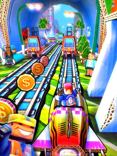 Download Paper train rush iPhone free game.