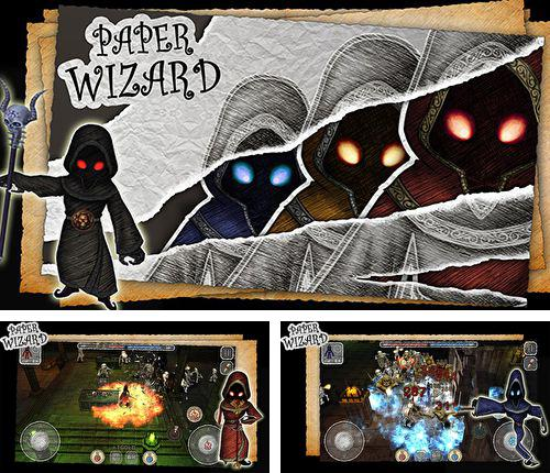 In addition to the game Machine War for iPhone, iPad or iPod, you can also download Paper wizard for free.