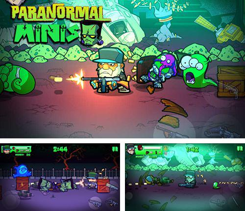 In addition to the game Card king: Dragon wars for iPhone, iPad or iPod, you can also download Paranormal Minis for free.