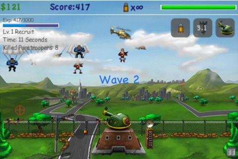 Download Paratroopers: Air assault iPhone free game.