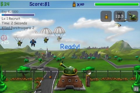 Free Paratroopers: Air assault download for iPhone, iPad and iPod.