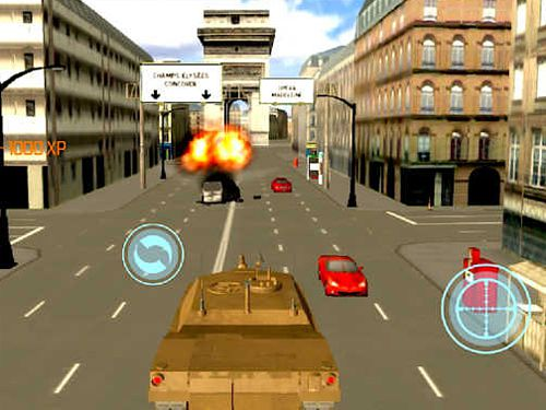 Screenshots vom Spiel Paris: Urban war für iPhone, iPad oder iPod.