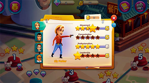 Écrans du jeu Parker and Lane: Twisted minds pour iPhone, iPad ou iPod.