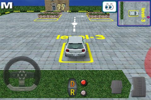 Free Parking 3D download for iPhone, iPad and iPod.