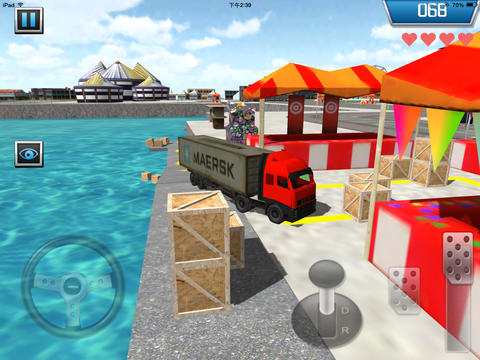 Screenshots vom Spiel Parking 3D Truck für iPhone, iPad oder iPod.