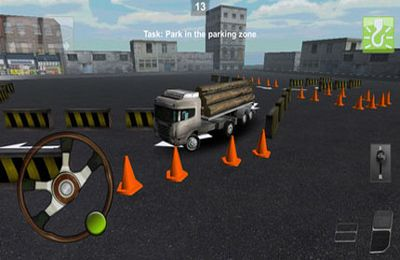Free Parking Truck 3D download for iPhone, iPad and iPod.