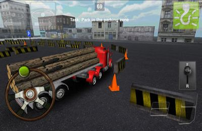 Screenshots vom Spiel Parking Truck 3D für iPhone, iPad oder iPod.