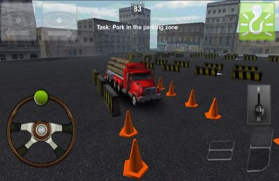 Screenshots of the Parking Truck 3D game for iPhone, iPad or iPod.