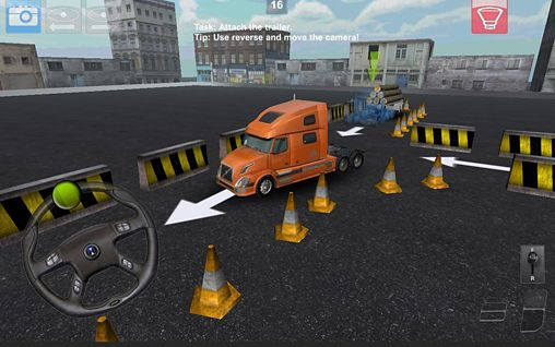 Download Parking truck: Deluxe iPhone free game.