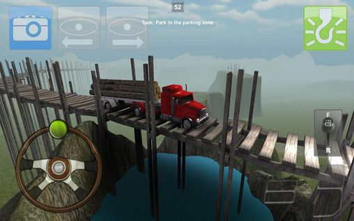 Screenshots vom Spiel Parking truck: Deluxe für iPhone, iPad oder iPod.