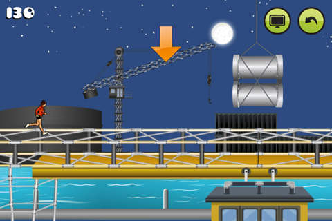 Download Parkour: Roof riders iPhone free game.