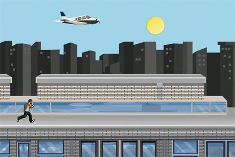 Free Parkour: Roof riders download for iPhone, iPad and iPod.
