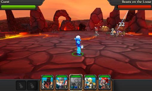 Capturas de pantalla del juego Party of heroes para iPhone, iPad o iPod.
