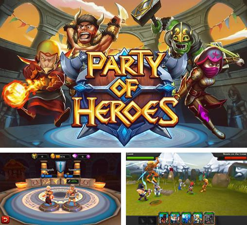 In addition to the game Cascade for iPhone, iPad or iPod, you can also download Party of heroes for free.