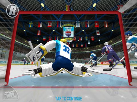 Screenshots of the Patrick Kane's Hockey Classic game for iPhone, iPad or iPod.