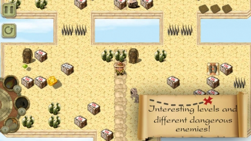 Screenshots of the Pave the way game for iPhone, iPad or iPod.