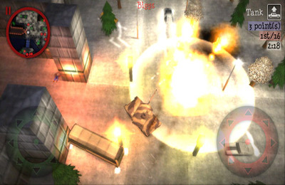 Screenshots vom Spiel Payback 2 – The Battle Sandbox für iPhone, iPad oder iPod.
