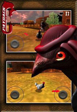 Download Payback Chicken iPhone free game.