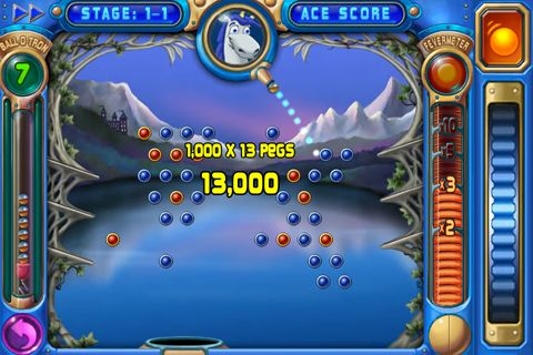 Descarga gratuita de Peggle para iPhone, iPad y iPod.
