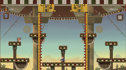 Screenshots of the Penarium game for iPhone, iPad or iPod.