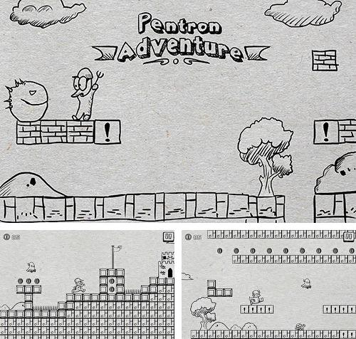 In addition to the game Runaway Snack for iPhone, iPad or iPod, you can also download Super Pentron adventure for free.