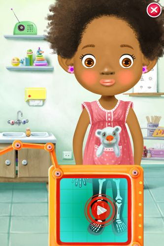 Screenshots of the Pepi doctor game for iPhone, iPad or iPod.