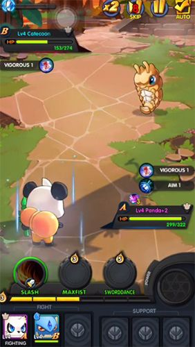 Screenshots do jogo Pet alliance 2 para iPhone, iPad ou iPod.