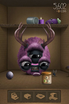 Screenshots of the Pet Peaves Monsters game for iPhone, iPad or iPod.