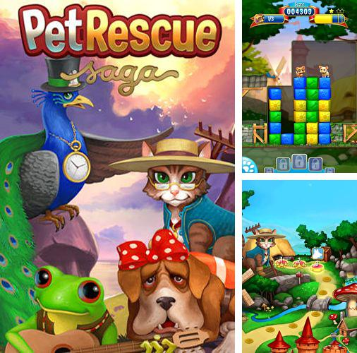 In addition to the game Enigmatis: The ghosts of Maple Creek for iPhone, iPad or iPod, you can also download Pet rescue: Saga for free.