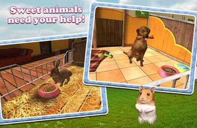 Download PetWorld 3D: My Animal Rescue iPhone free game.