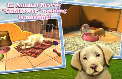 Écrans du jeu PetWorld 3D: My Animal Rescue pour iPhone, iPad ou iPod.