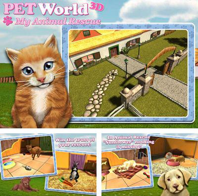 In addition to the game Zombie Duck Hunt for iPhone, iPad or iPod, you can also download PetWorld 3D: My Animal Rescue for free.