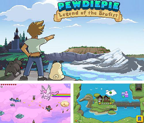 In addition to the game Super zombie ninja vs. zombies world for iPhone, iPad or iPod, you can also download PewDiePie: Legend of the Brofist for free.