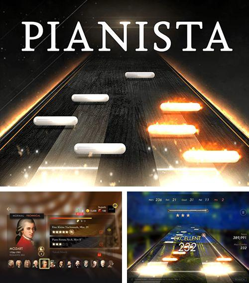 In addition to the game Falling cube: Saga for iPhone, iPad or iPod, you can also download Pianista for free.