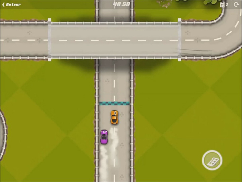 Screenshots of the Pico rally game for iPhone, iPad or iPod.