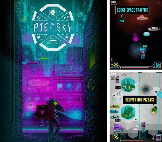 In addition to the game Motor race: Rush for iPhone, iPad or iPod, you can also download Pie in the sky for free.