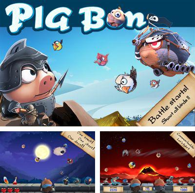 In addition to the game Break free for iPhone, iPad or iPod, you can also download Pig Bon for free.