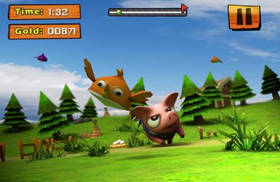 Screenshots of the Piggy Revenges game for iPhone, iPad or iPod.