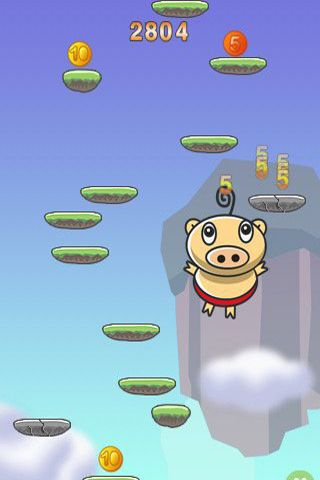 Descarga gratuita de PigJump para iPhone, iPad y iPod.