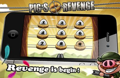 Screenshots of the Pigs Revenge game for iPhone, iPad or iPod.