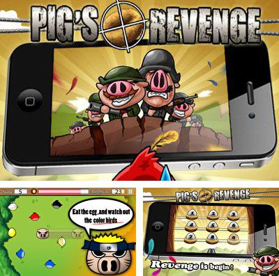 In addition to the game Lego Star wars: The force awakens for iPhone, iPad or iPod, you can also download Pigs Revenge for free.