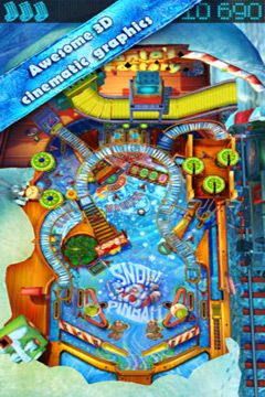 Kostenloser Download von Pinball HD for iPhone für iPhone, iPad und iPod.